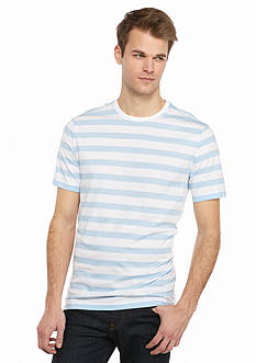 Saddlebred Short Sleeve Rugby Striped Tee