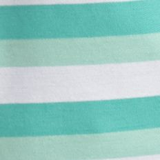 Men: Short Sleeve Sale: Green/White Saddlebred Short Sleeve Stripe Pocket Pique Polo Shirt