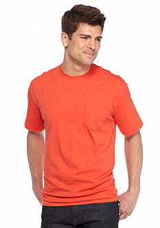 Saddlebred Short Sleeve Heather Pocket Tee