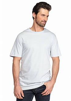 Saddlebred Short Sleeve Pencil Stripe Tee