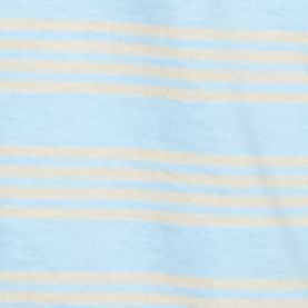 Short Sleeve T-shirts for Men: Blue/Khaki Saddlebred Short Sleeve Stripe Tee