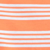 Mens T-shirts on Sale: Orange/Blue Saddlebred Short Sleeve Stripe Tee