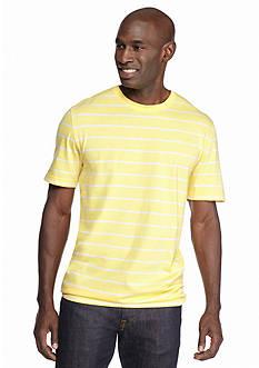 Saddlebred Short Sleeve Basic Stripe T-Shirt