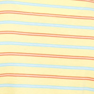Men: Short Sleeve Sale: Yellow/Orange/Blue Saddlebred Short Sleeve Stripe Jersey Polo Shirt