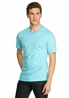 Saddlebred 1888 Tailored Fit Stripe Tee