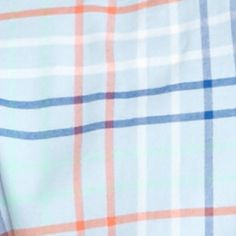 Men: Saddlebred Casual Shirts: Blue Multi Saddlebred Long Sleeve Plaid Oxford Shirt