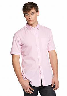 Saddlebred Short Sleeve Mini Gingham Shirt