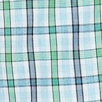 Men: Short Sleeves Sale: White Plaid Saddlebred Short Sleeve Easy-Care Plaid Woven Shirt