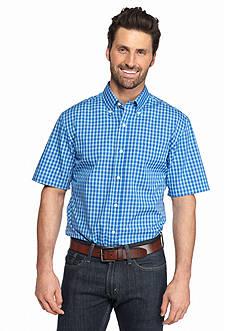 Saddlebred Short Sleeve Easy Care Medium Plaid Shirt