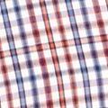 Men: Saddlebred Trends: Flag Mini Saddlebred Short Sleeve Easy Care Mini Grid Woven Shirt