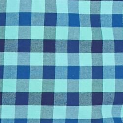 Men: Saddlebred Casual Shirts: Blue/Green Saddlebred 1888 Tailored Gingham Oxford Shirt