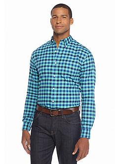 Saddlebred 1888 Tailored Gingham Oxford Shirt