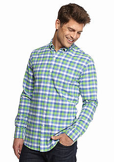 Saddlebred 1888 Tailored Gingham Oxford Shirt