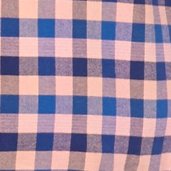 Men: Saddlebred Casual Shirts: Peach/Blue Saddlebred 1888 Tailored Gingham Oxford Shirt