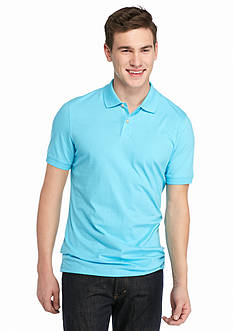 Saddlebred 1888 Pima Solid Polo Shirt