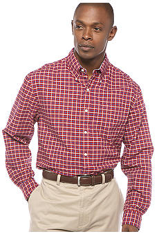 Saddlebred Plaid Vintage Oxford Woven