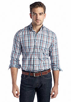 Saddlebred® Long-Sleeve Easy-Care Woven Shirt