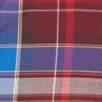 Non Iron: Casual Shirts: Sirin/Red Saddlebred Long Sleeve Wrinkle Free Plaid Woven Shirt