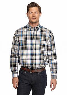 Saddlebred Long Sleeve Plaid Shirt