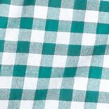 St Patricks Day Outfits For Men: Green/White Saddlebred Long Sleeve Gingham Oxford Shirts
