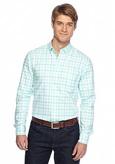 Saddlebred Long Sleeve Gingham Oxford Shirts