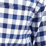 St Patricks Day Outfits For Men: Navy/White Saddlebred Long Sleeve Gingham Oxford Shirts