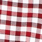 St Patricks Day Outfits For Men: Red/White Saddlebred Long Sleeve Gingham Oxford Shirts