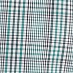 St Patricks Day Outfits For Men: Green Saddlebred Long Sleeve Glen Plaid Woven Shirt