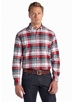 Saddlebred Long Sleeve Solid Oxford Shirt