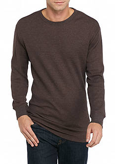 Saddlebred Long Sleeve Thermal Crew Neck Shirt