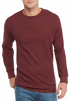 Saddlebred Long Sleeve Thermal Henley Shirt