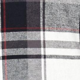 St Patricks Day Outfits For Men: Black/Gray/White Saddlebred Long Sleeve Flannel Shirt