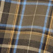 St Patricks Day Outfits For Men: Olive/Blue Saddlebred Long Sleeve Flannel Shirt