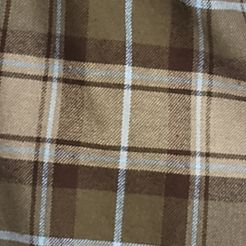 Men: Saddlebred Casual Shirts: Olive/Tan Saddlebred Long Sleeve Flannel Shirt