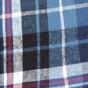 Men: Saddlebred Casual Shirts: Blue/Black Saddlebred Long Sleeve Flannel Shirt