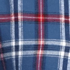 Men: Saddlebred Casual Shirts: Blue/Red/White Saddlebred Long Sleeve Flannel Shirt
