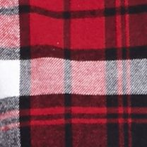 Men: Saddlebred Casual Shirts: Red/Black Saddlebred Long Sleeve Flannel Shirt