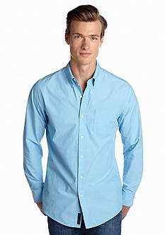 Saddlebred 1888 Solid Tailored Poplin Shirt