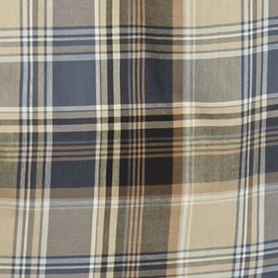 Men: Saddlebred Trends: Black/Khaki Saddlebred Long Sleeve Medium Plaid Wrinkle Free Shirt