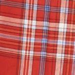Men: Saddlebred Trends: Plaid Red Saddlebred Long Sleeve Wrinkle Free Medium Plaid Shirt