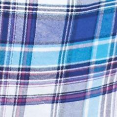 Men: Saddlebred Trends: White/Blue/Pink Saddlebred Long Sleeve Medium Plaid Oxford Shirt