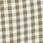 Mens Casual Shirts: Check & Plaid: Olive/Khaki Saddlebred Long Sleeve Small Gingham Easy Care Shirt