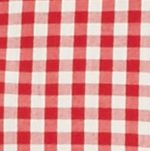 Mens Casual Shirts: Check & Plaid: Red/Khaki Saddlebred Long Sleeve Small Gingham Easy Care Shirt