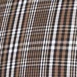 Men: Saddlebred Trends: Black/Brown Saddlebred Long Sleeve Glen Plaid Easy Care Shirt