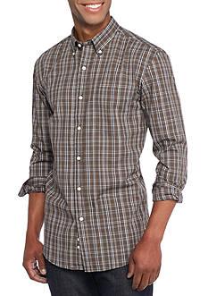 Saddlebred Long Sleeve Glen Plaid Easy Care Shirt