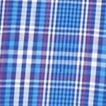 Mens Casual Shirts: Check & Plaid: Blue/Pink Saddlebred Long Sleeve Glen Plaid Easy Care Shirt
