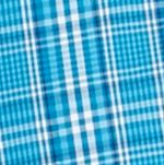 Mens Casual Shirts: Check & Plaid: Teal/Blue Saddlebred Long Sleeve Glen Plaid Easy Care Shirt