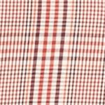 Mens Casual Shirts: Check & Plaid: Orange/Red Saddlebred Long Sleeve Glen Plaid Easy Care Shirt