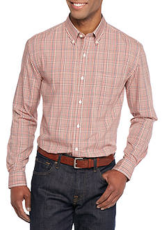 Saddlebred Long Sleeve Glen Plaid Easy Care Shirt