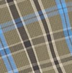 Mens Casual Shirts: Check & Plaid: Olive/Black/Blue Saddlebred Long Sleeve Small Plaid Easy Care Shirt